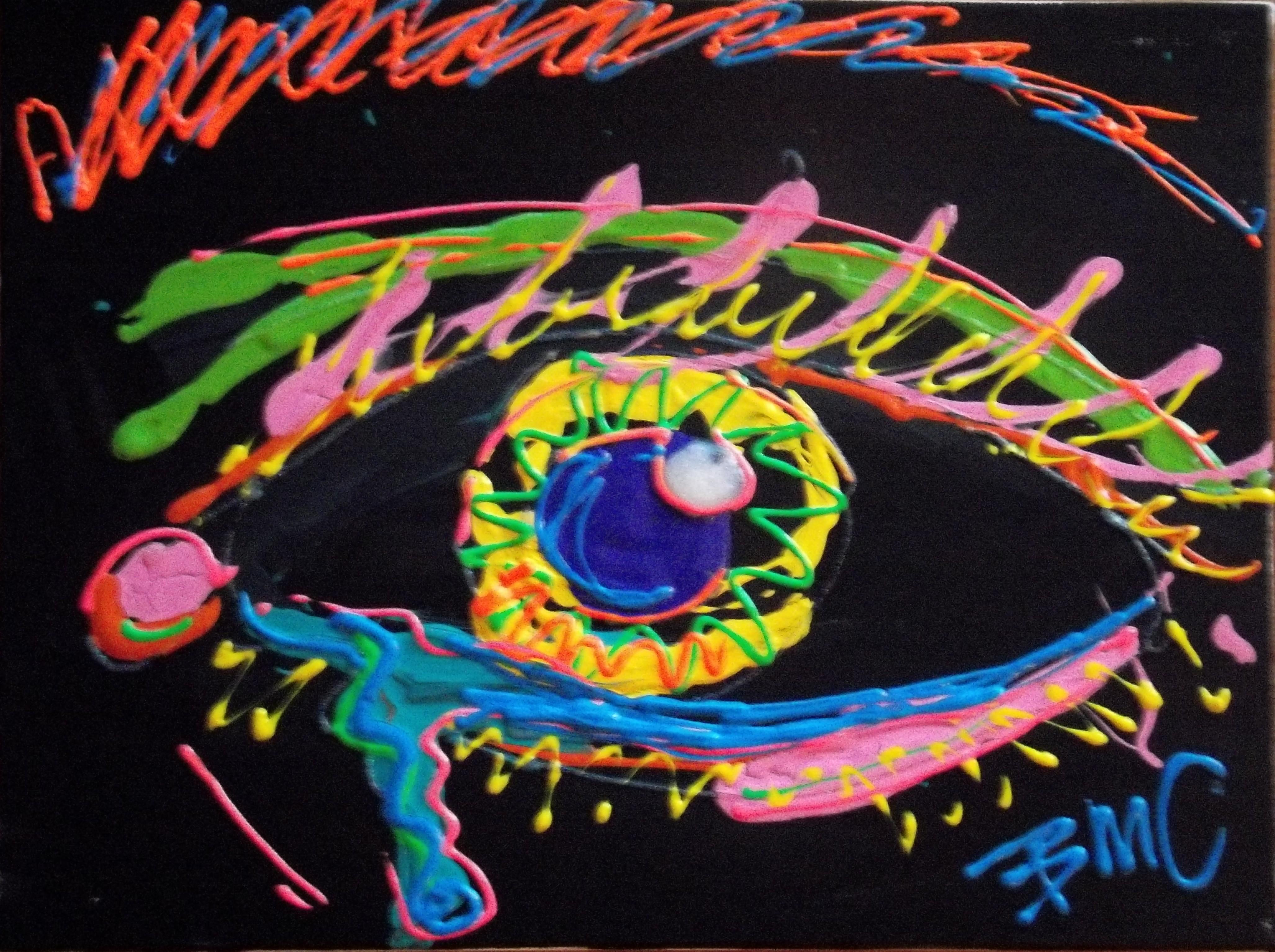 Neon 3D Painting!!! | ColemanInk Artworks